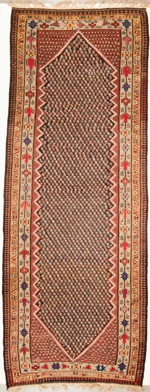 Perzische Senneh Kelim 170x445 cm 8