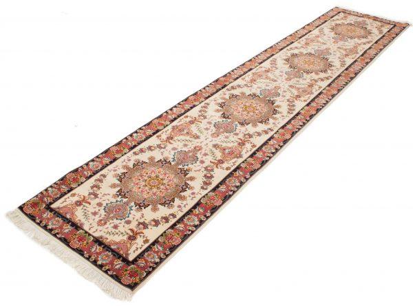Perzische loper Tabriz 60 Raj 85x450 cm 3