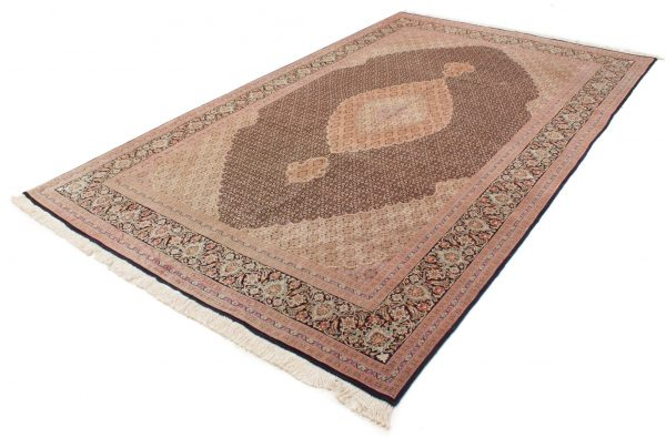 Tabriz tapijt 60 Raj met zijde 196x232 cm 4