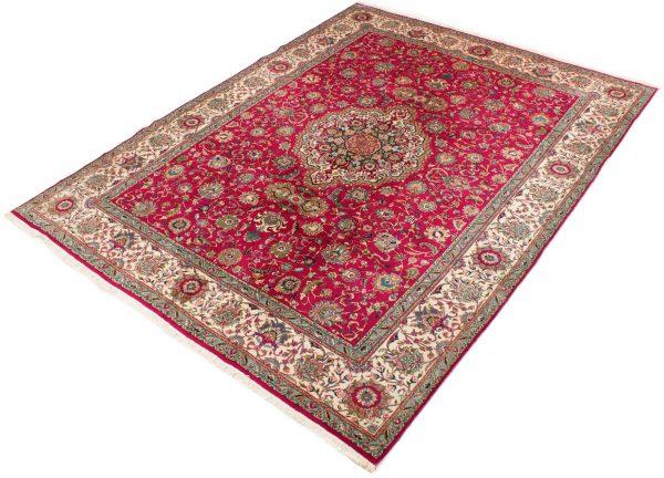 Vintage Perzisch tapijt Tabriz 300x375 cm2