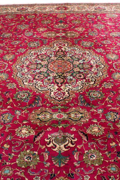Vintage Perzisch tapijt Tabriz 300x375 cm3