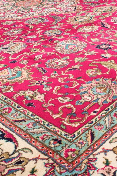 Vintage Perzisch tapijt Tabriz 300x375 cm5