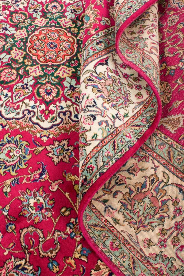 Vintage Perzisch tapijt Tabriz 300x375 cm6