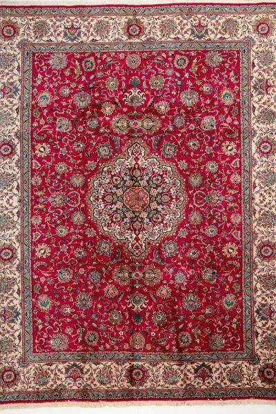 Vintage Perzisch tapijt Tabriz 300x375 cm8