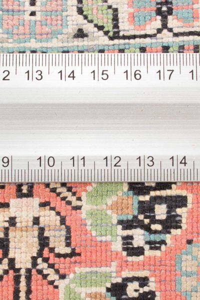 Vintage handgeknoopt tapijt zijde 94x157 cm1