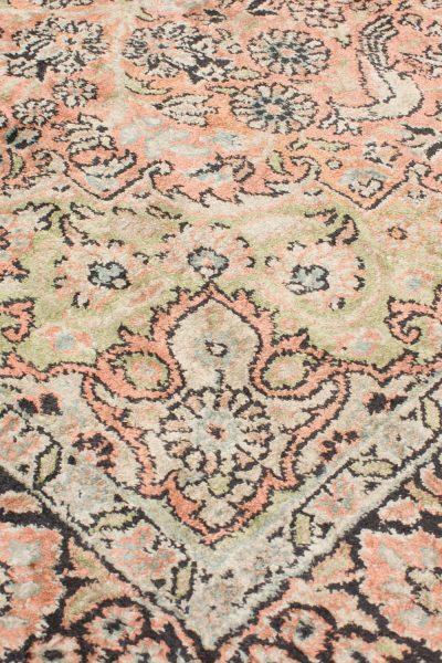 Vintage handgeknoopt tapijt zijde 94x157 cm7
