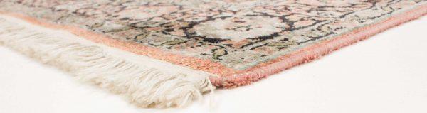 Vintage handgeknoopt tapijt zijde 94x157 cm8