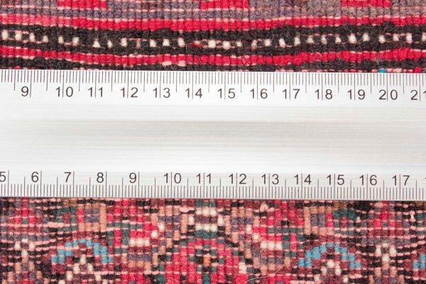 Vintage handgeknoopte Perzisch tapijt Senneh 74x98 cm 2