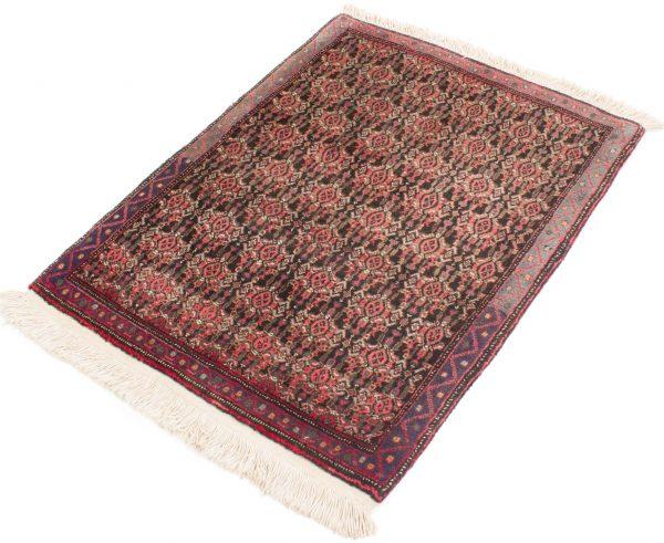 Vintage handgeknoopte Perzisch tapijt Senneh 74x98 cm 3