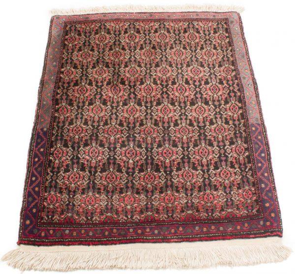 Vintage handgeknoopte Perzisch tapijt Senneh 74x98 cm 4