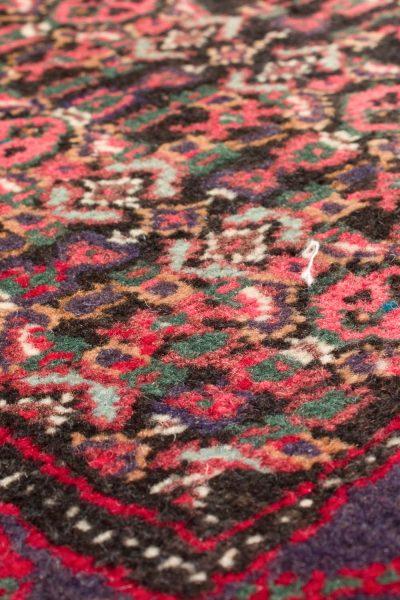 Vintage handgeknoopte Perzisch tapijt Senneh 74x98 cm 6