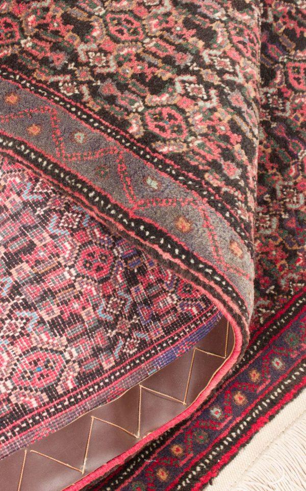 Vintage handgeknoopte Perzisch tapijt Senneh 74x98 cm 7